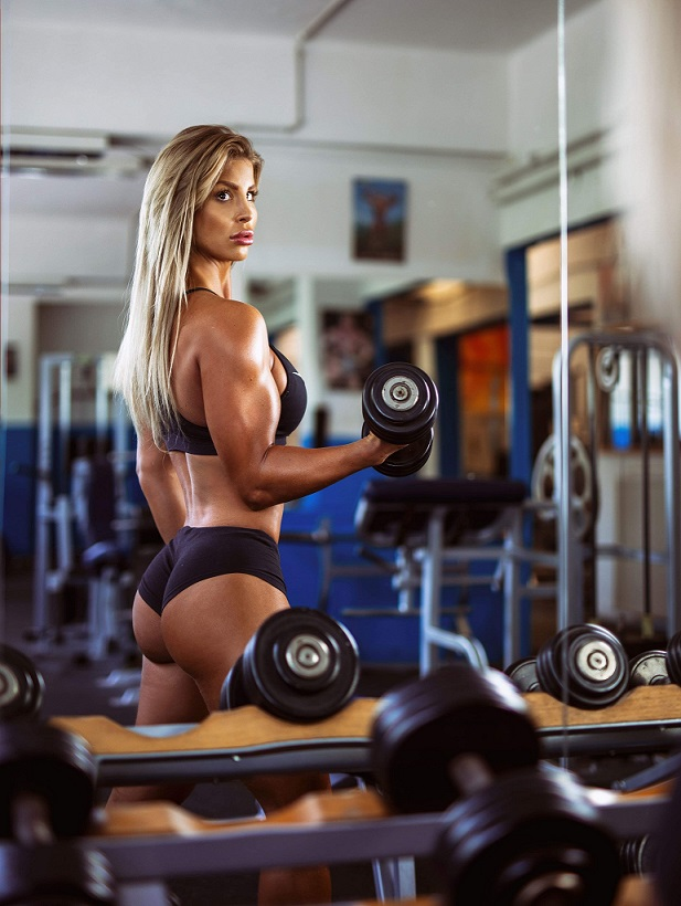Sheena in the gym 4