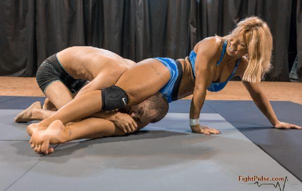 Sheena Wrestling 9